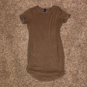 Windsor brown bodycon dress